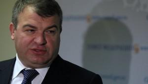 Le ministre russe Anatoli Serdioukov