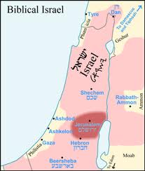 Carte Israel Biblique