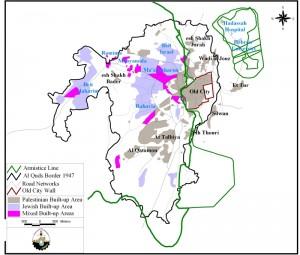 Jerusalem carte