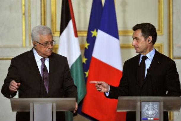 Sarkozy Mahmoud Abbas