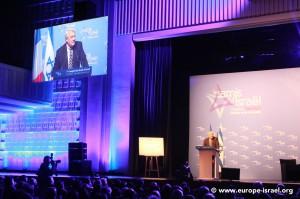 Claude Goasguen, député maire UMP du 16ème arrondissement et président du groupe d'amitié France-Israël à l'Assemblée nationale