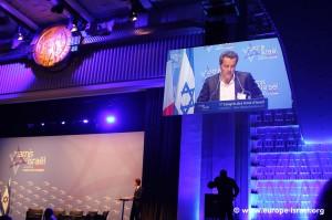 le premier Congrès des Amis d'Israël