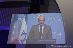 Alain Juppé, le ministre des Affaires étrangères et européennes