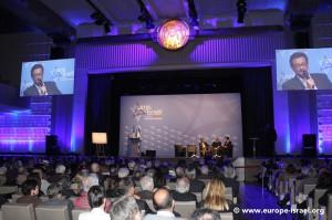 Valérie Rosso-Debord représentant le Président Sarkozy