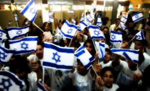 israéliens heureux
