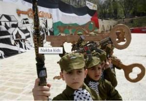 nakba : enfants terroristes