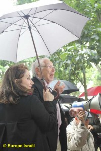 Manifestation le dimanche 24 juin devant le siège de l'UNESCO Charles Meyer