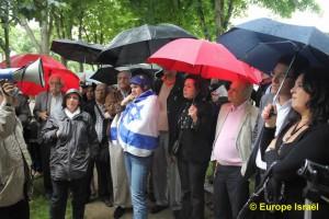 Manifestation le dimanche 24 juin devant le siège de l'UNESCO
