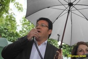Manifestation le dimanche 24 juin devant le siège de l'UNESCO Gil Taïeb