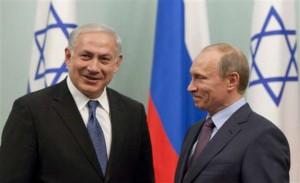 Vladimir Poutine rencontre Netanyahu