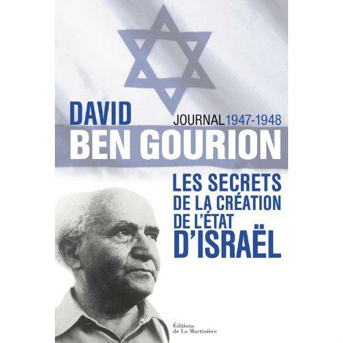 David Ben Gourion journal 1947 1948