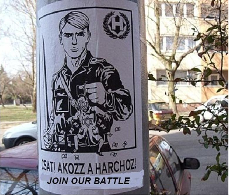 Hongrie poster nazi 2012