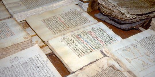 mali des manuscritss auvegardés pa la population, pour combien de temps encore?