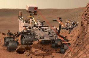 Curiosity Rover sur Mars
