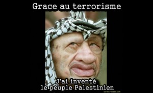 Yasser Arafat terroriste palestinien