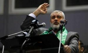 Ismail Hanyeh le chef du mouvement terroriste se cache