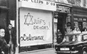 Juifs dehors !