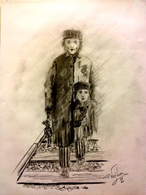 Richard Weisberg - Yom HaShoah,  Ils y ont assassinés les miens , les nôtres et mon enfance ...