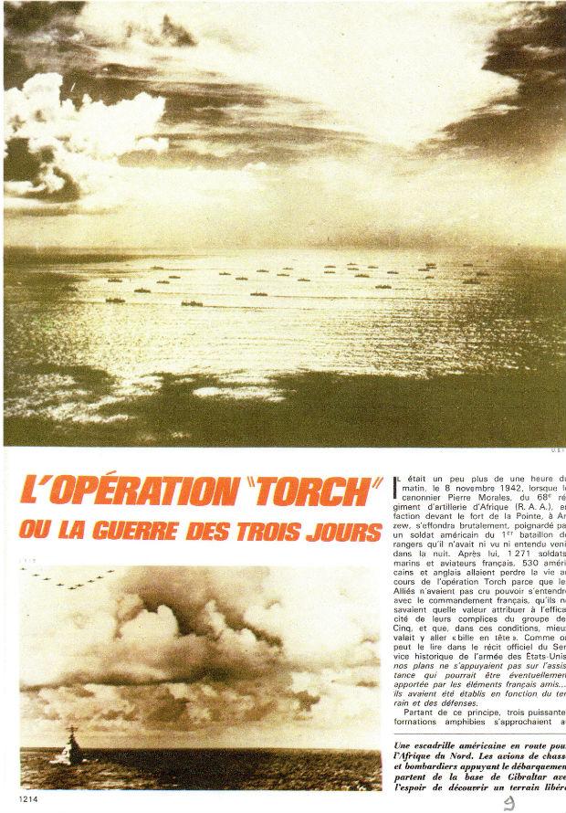 L'opération TORCH -Algérie