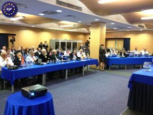 Session du Parlement Juif Européen à Kiev