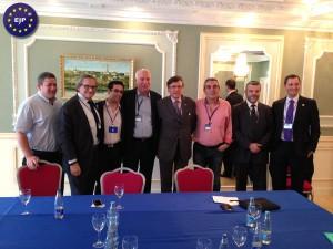 La délégation française du PJE rencontre Ouri Ariel ministre israélien