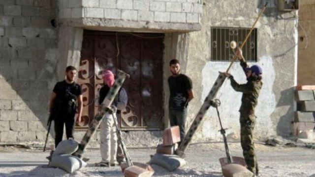 Milices armée en Syrie