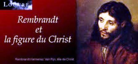 Le visage du Christ par Rembrandt qui lui redonne sa judéité. Son modèle était un jeune juif séfarade.