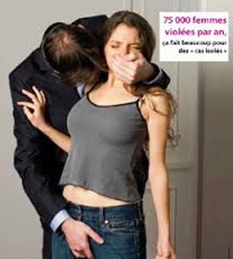 Plus de 75 000 viols reconnus en France chaque année...!!!