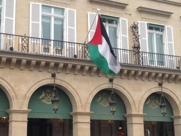 Hotel Meurice nazi palestinien