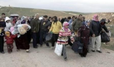Afflux de réfugiés syriens en Jordanie