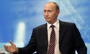 Vladimir poutine parle aux américains