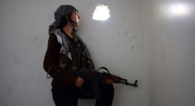 combattantes kurdes