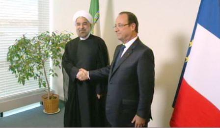 Avec François Hollande aux Nations Unies