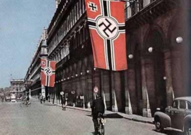 Hotel Meurice - drapeau nazi