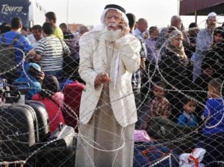 Gaza. Blocus égyptien