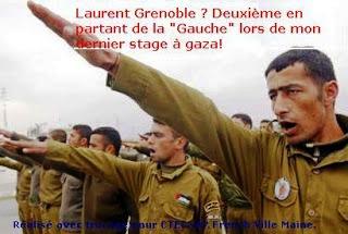 Milicien français pro-palestinien en stage à Gaza