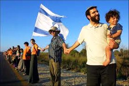 """Les """"colons"""" de Judée-Samarie, sont des familles juives heureuses de retrouver la terre de leurs ancêtres"""