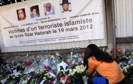 En mémoire des victimes de l'école juive Ozar Hattorah de Toulouse Toulouse