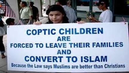 Egypte : Les enfants coptes sont kidnappés par des musulmans et forcés de se convertir à l'Islam.