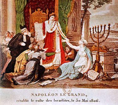 1806 : Napoléon 1er établit le Culte israélite de France