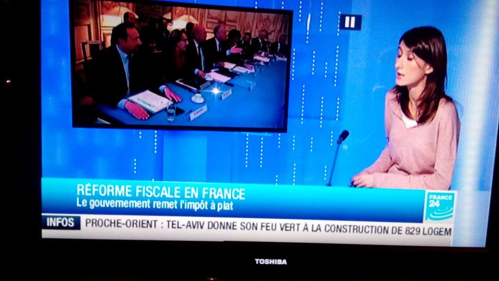 Pour France 24  Israel n'existe pas