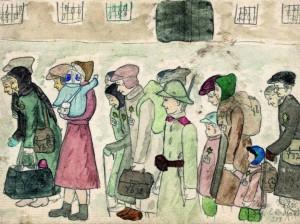 "Extrait du ""Journal d'Helga"", par Helga Weissová"