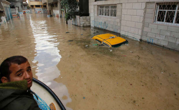 Inondation à Gaza