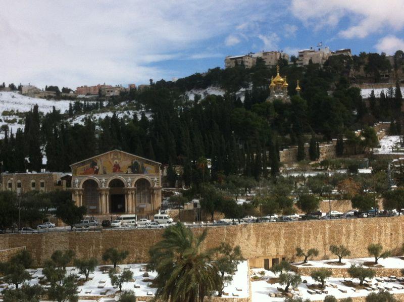 jerusalem neige  1