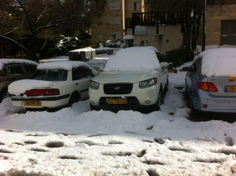 jerusalem neige  2