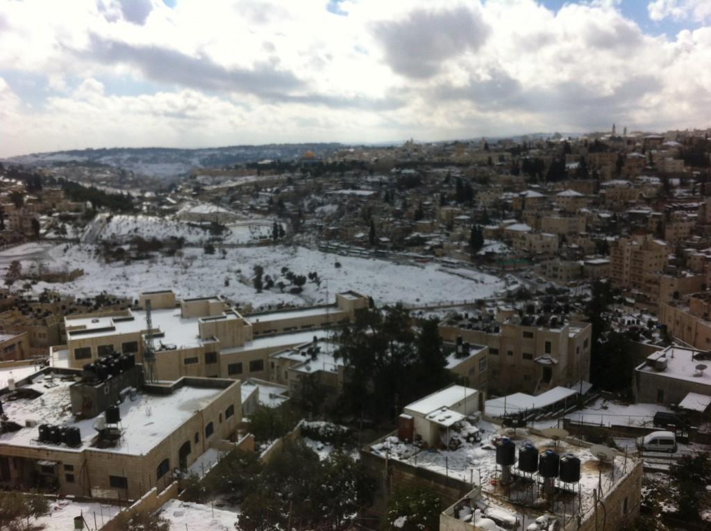 neige à jerusalem 6