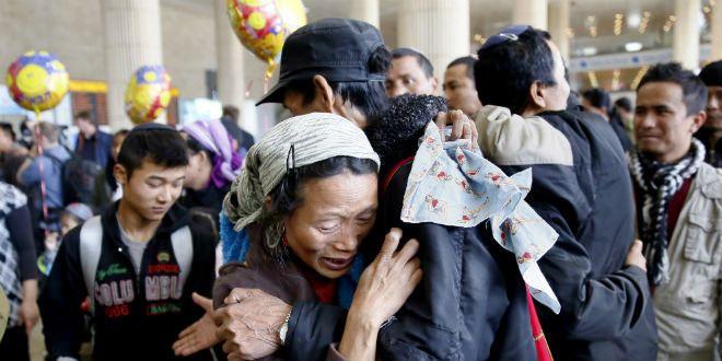 L'émotion à leur arrivée à l'aéroport Ben Gourion