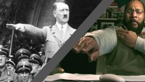 Dieudonné signe nazi