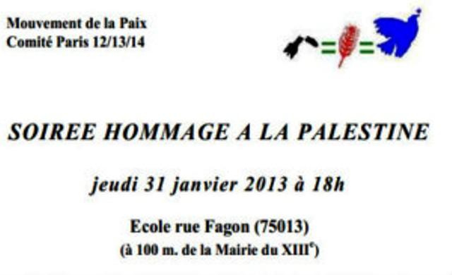"""Une école publique française impliquée dans le Jihad islamo-arabe par le biais d'un soutien à """"la Palestine"""". Est-ce le rôle d'une école publique? En France comme dans toute l'UE,  l'argent des contribuables sert à financer la haine..."""