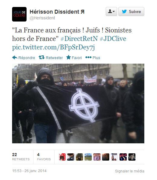 """Juifs hors de France !"""